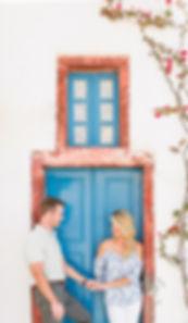 Santorini engagement