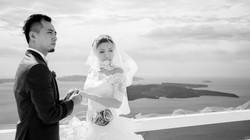 Oia Santorini wedding photographer