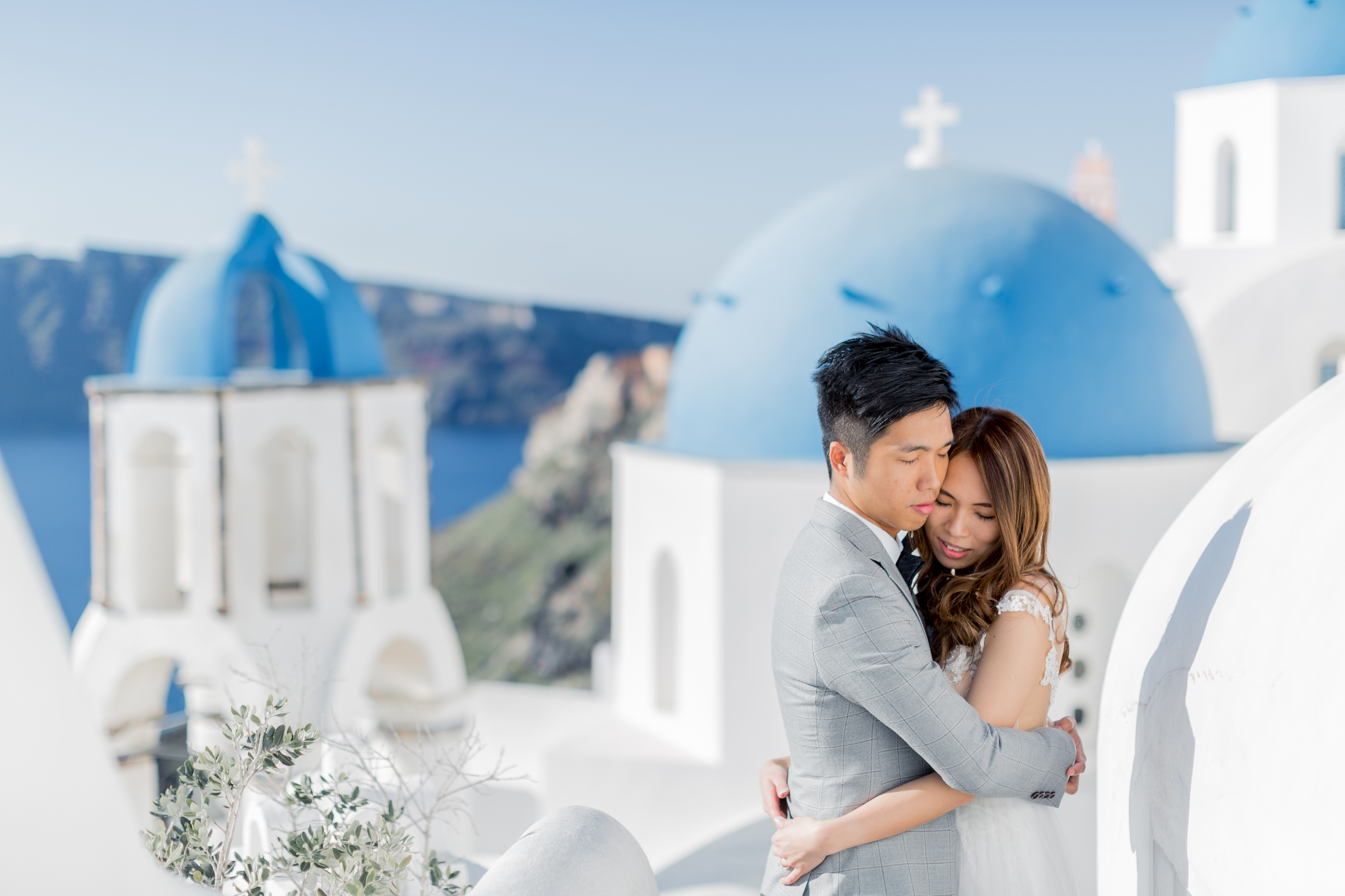 Santorini wedding Oia