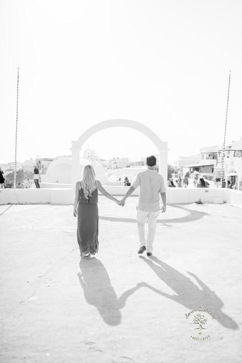 Oia wedding photographer