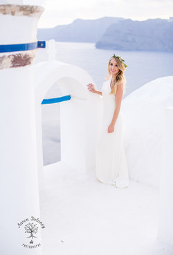 Oia Wedding photographer