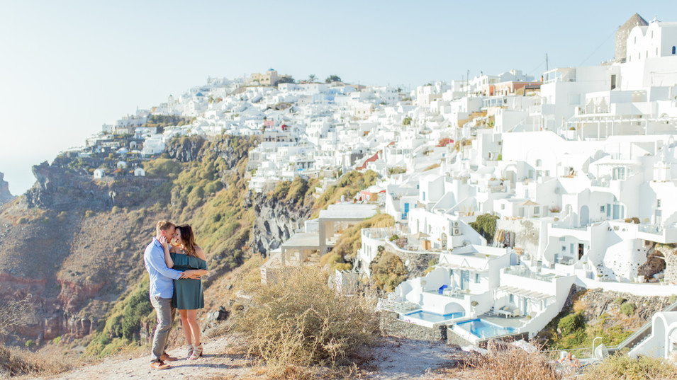 Santorini photographer photoshoot