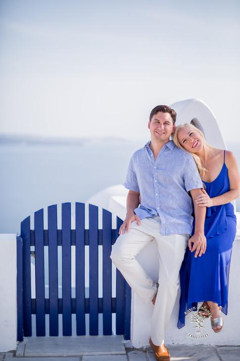 Santorini wedding photographers