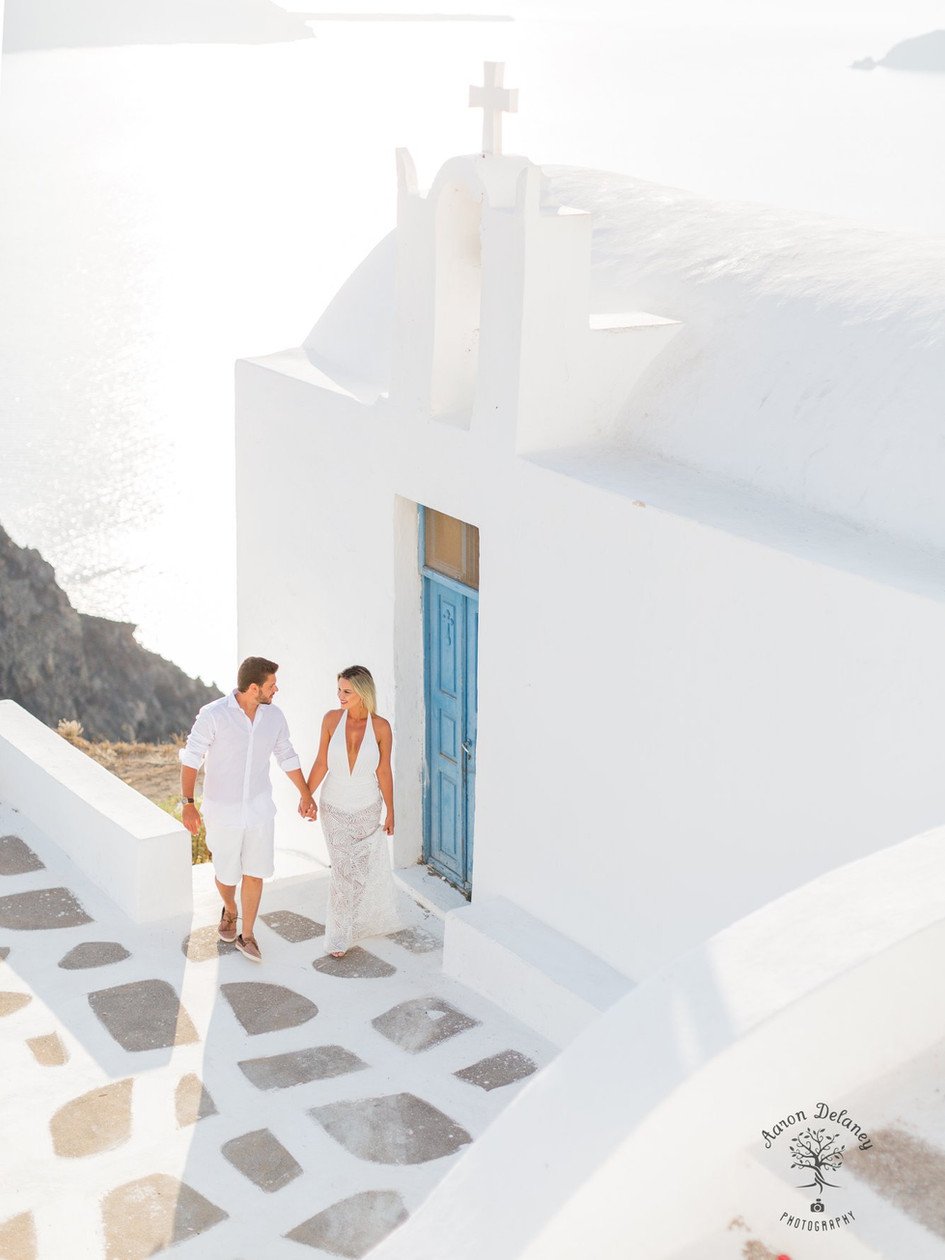 Elopement Wedding Santorini