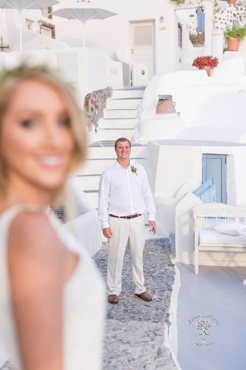 Best photographer in Santorini