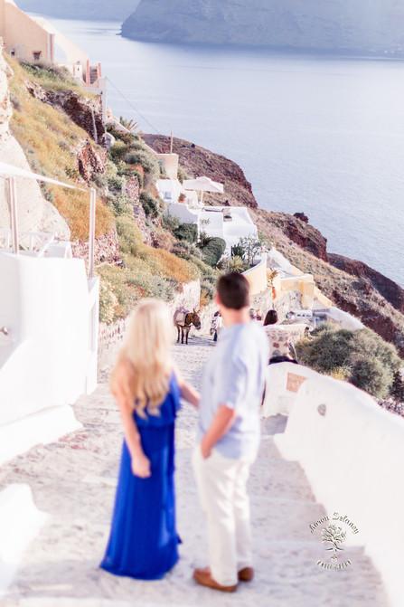 oia wedding photographer Greece