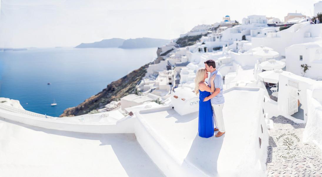 Greece santorini honeymoon