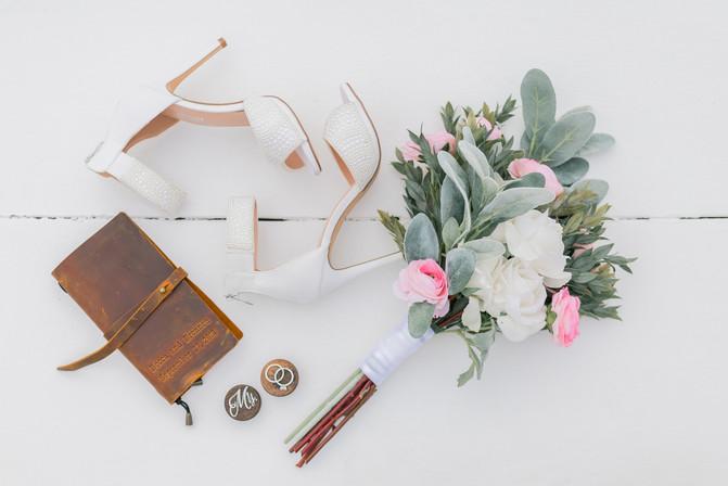 Santorini elopement wedding