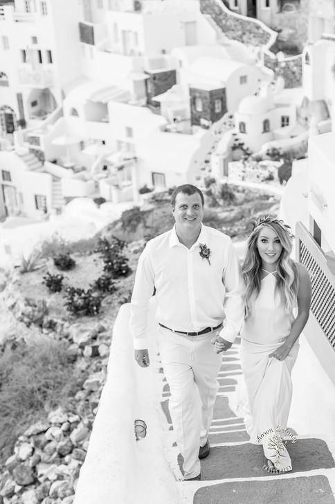 Best wedding venue Santorini Greece