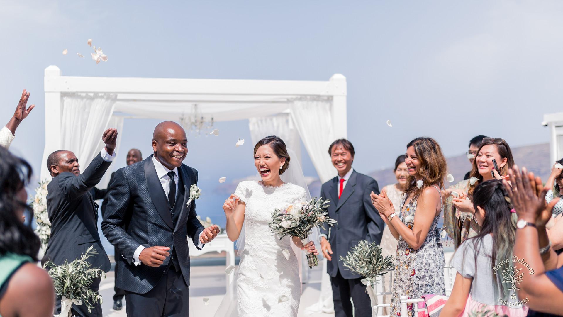 santoini wedding le ciel photographer