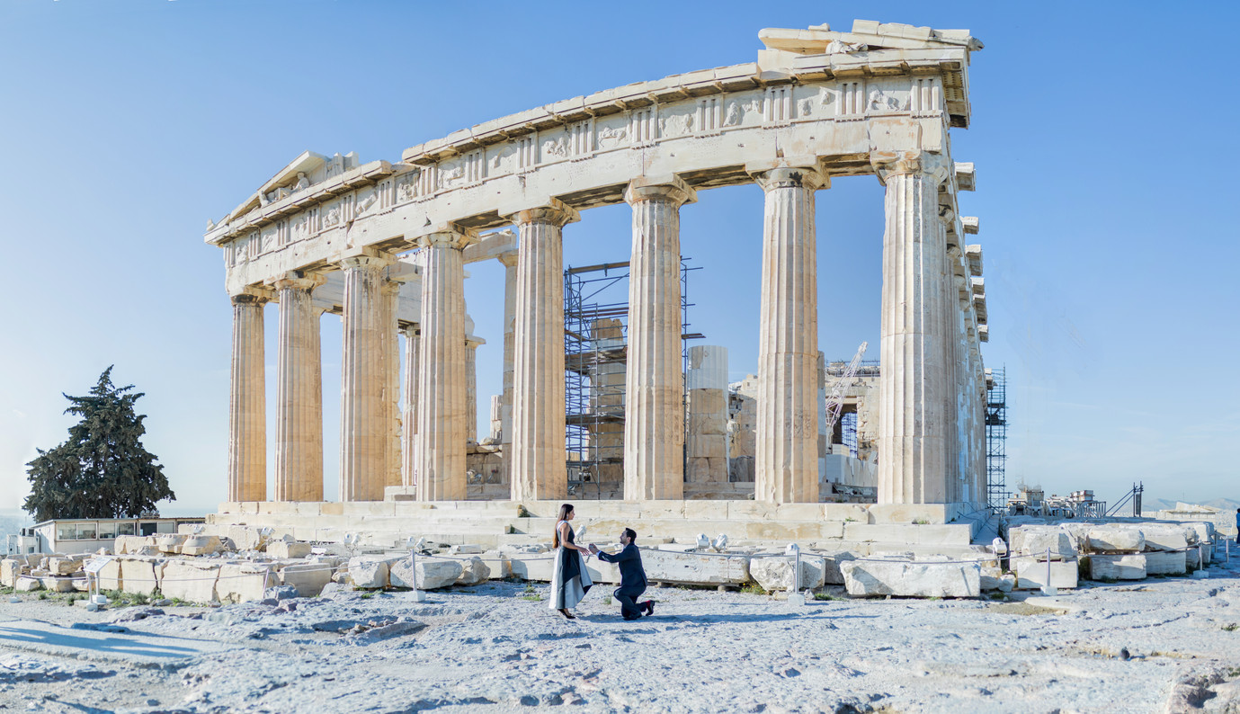 Athens wedding Proposal