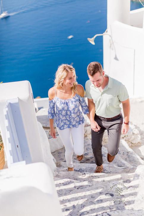 vacation photographer Santorini Greece