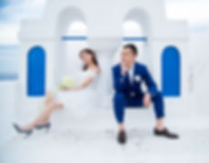 Best destination wedding photographer santorini