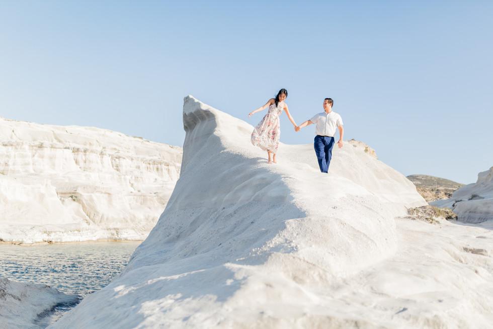 Milos island wedding, Greece