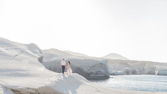 Milos wedding photographer Greece
