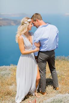 Destination wedding Santorini Greece
