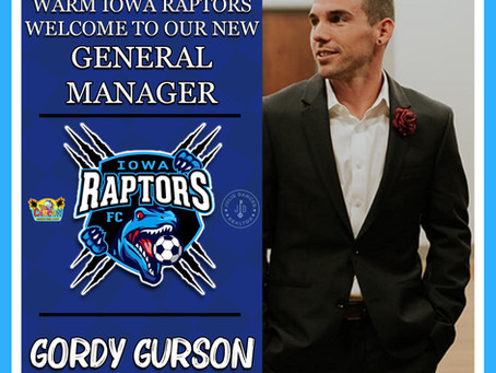 Iowa Raptors make THREE new additions to the front office staff before the upcoming 2021 season!