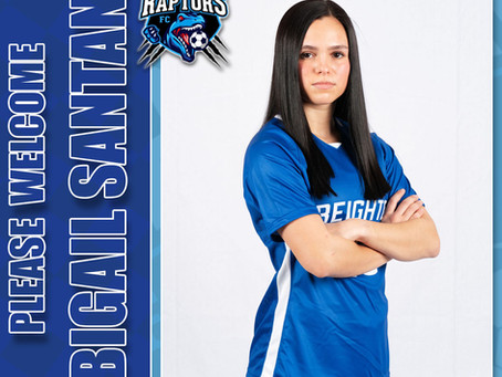 Abigail Santana joins the Iowa Raptors