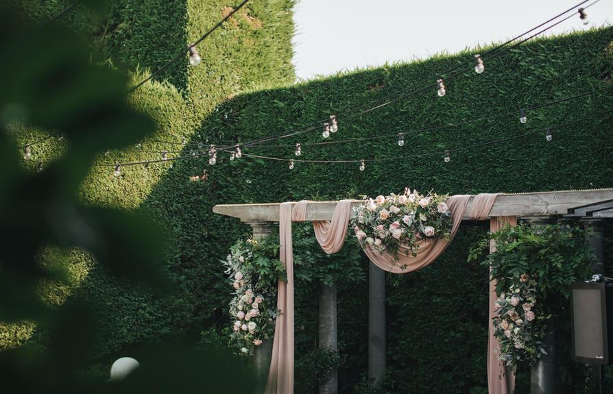 Full Wedding Floral Styling