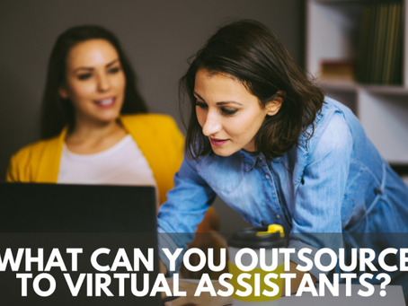 What Can You Outsource to Virtual Assistants?
