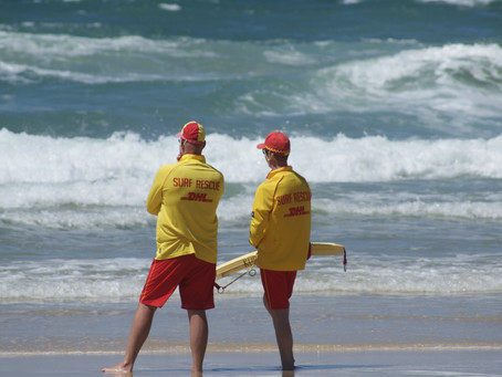 Kurrawa Life Saver Performs Rescue on First Patrol