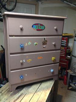 Dresser -  before