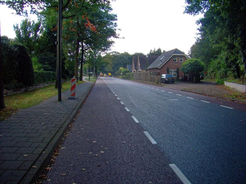 Nieuw asfalt Elspeet-Uddel