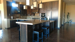 Anderson Residence custom kitchen