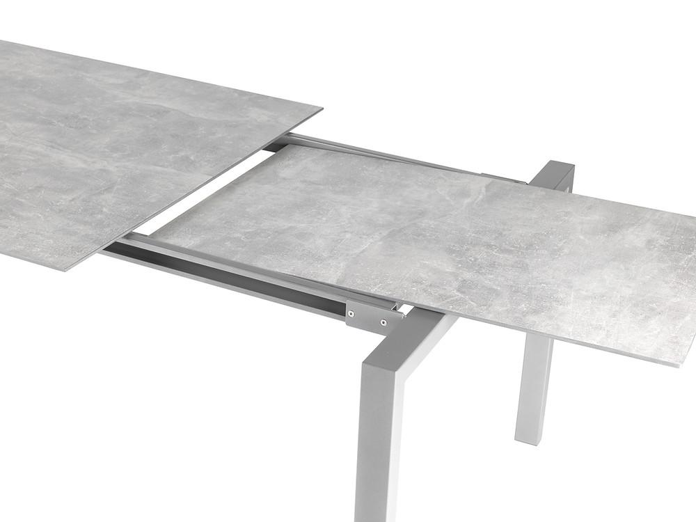Luzern Tisch Fiberglasplatte Beton Decor Auszug