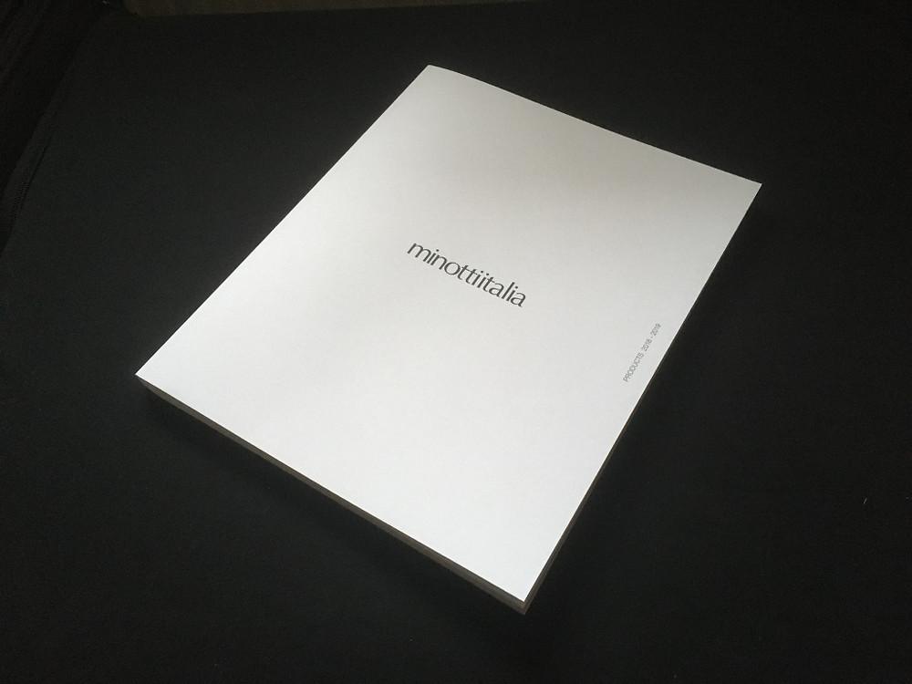 Der neu Design Katalog von Minottiitalia