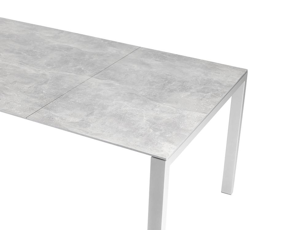 Luzern Tisch Fiberglasplatter Beton Decor