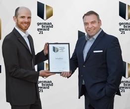 Auszeichnung beim German Brand Award 2021