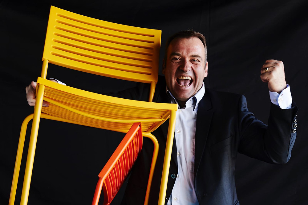 Martin Schaffner mit Power