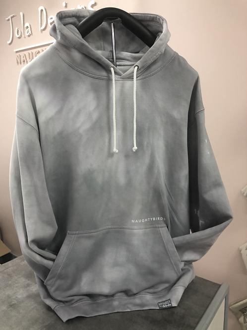 Grey Tie-Dye Original Hoodie