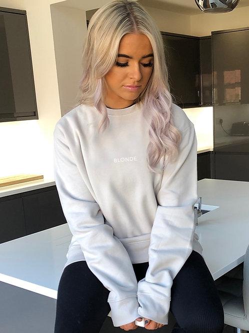 Blonde - Oversized Sweatshirt Stone