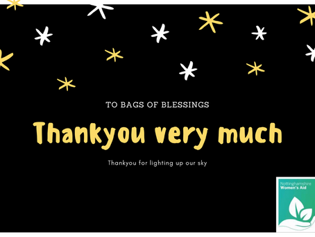 A Thank You