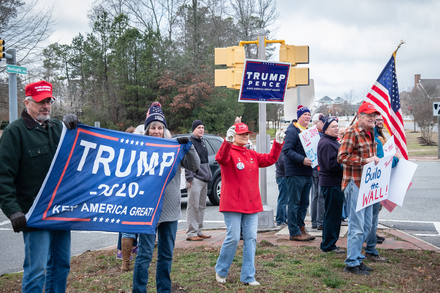Trump Flash Rally 2-1-2020
