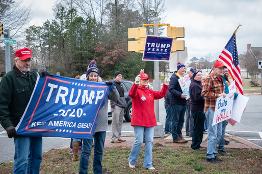 Trump Flash Rally 2-1-2020