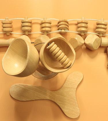 5 Piece Wood Set