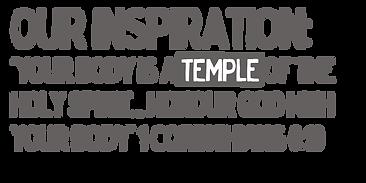 your body is a temple bible verse 1 corinthians 6