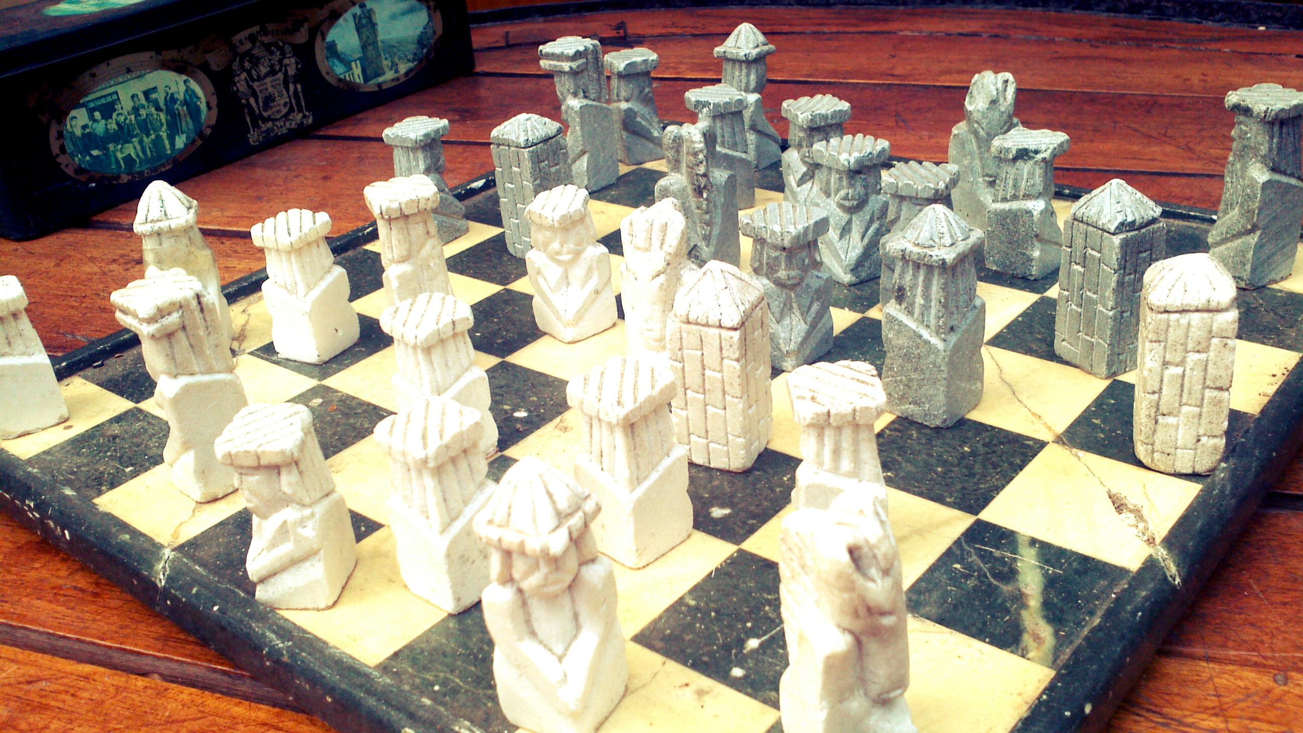 Chessboard in Brazil