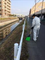 河川清掃活動 第2回目