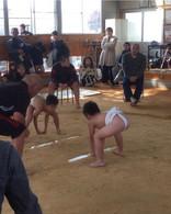 息子の相撲大会