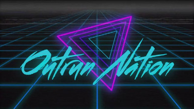 Outrun Nation Broadcast Design