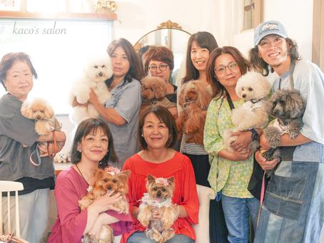 第2回kaco's salon「イヌと私のお話し会」ご参加ありがとうございました。