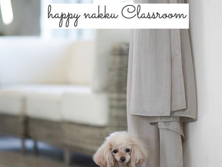 4月~8月happy nakku教室のご案内です