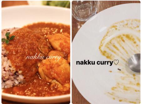 nakku curryはじまります。