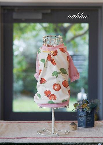 cherry&strawberry puff Tshirt