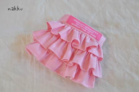 フリフリ3段スカート・ピンク
