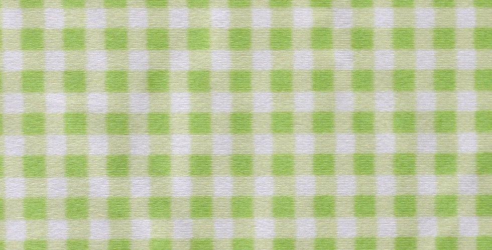 Apple Green & White Gingham